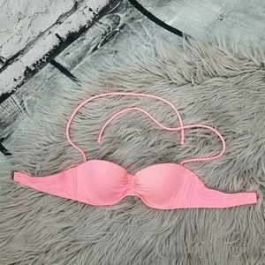 Victoria's Secret Pink Underwire Bikini Top 32B